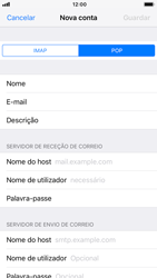 Apple iPhone 8 - iOS 12 - Email - Configurar a conta de Email -  12