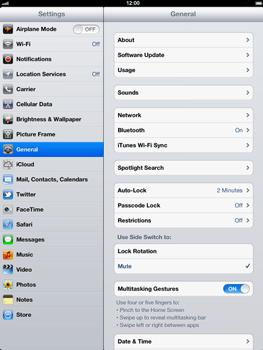Apple The New iPad - Internet - Usage across the border - Step 3