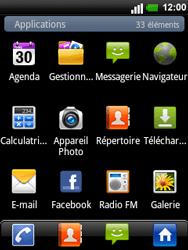 LG C660 Optimus Pro - E-mail - Configurer l