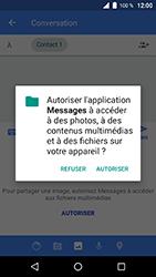 Wiko WIM Lite - Contact, Appels, SMS/MMS - Envoyer un MMS - Étape 12