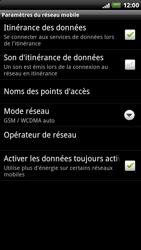 HTC X515m EVO 3D - Réseau - utilisation à l'étranger - Étape 9