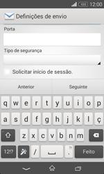 Sony Xperia E1 - Email - Configurar a conta de Email -  16