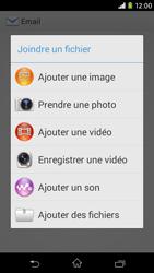 Sony D2303 Xperia M2 - E-mail - envoyer un e-mail - Étape 10