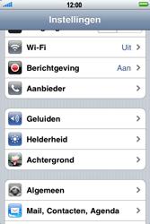Apple iPhone 3G S - E-mail - Handmatig instellen - Stap 4