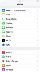 Apple iPhone 6 Plus iOS 8 - Mensajería - Configurar el equipo para mensajes multimedia - Paso 10