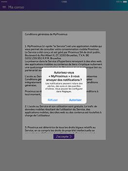 Apple iPad Pro 9.7 - iOS 10 - Applications - MyProximus - Étape 11