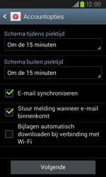Samsung I9105P Galaxy S II Plus - E-mail - e-mail instellen: IMAP (aanbevolen) - Stap 15