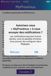 Apple iPhone 4 S iOS 9 - Applications - MyProximus - Étape 11
