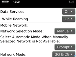 BlackBerry 9700 Bold - Internet - Enable or disable - Step 5