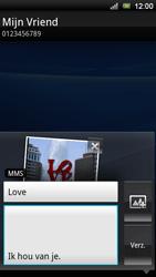 Sony Ericsson Xperia Ray - MMS - afbeeldingen verzenden - Stap 12