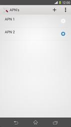 Sony Xperia M2 4G (D2303) - Internet - Handmatig instellen - Stap 16