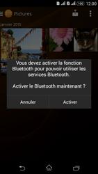 Sony Xperia E4g - Photos, vidéos, musique - Envoyer une photo via Bluetooth - Étape 14