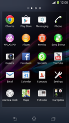 Sony Xperia Z1 Compact D5503 - Applications - Downloading applications - Step 3