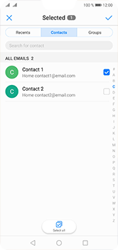 Huawei P20 Lite - Email - Sending an email message - Step 6
