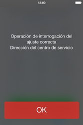Apple iPhone 4S iOS 7 - Mensajería - Configurar el equipo para mensajes de texto - Paso 4