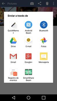 LG G4 - Bluetooth - Transferir archivos a través de Bluetooth - Paso 8