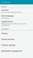 Samsung G901F Galaxy S5 4G+ - Internet - Manual configuration - Step 22