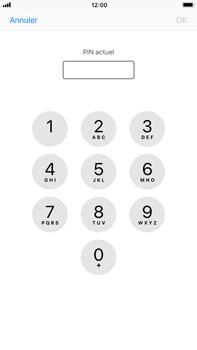 Apple iPhone 8 Plus - Sécuriser votre mobile - Personnaliser le code PIN de votre carte SIM - Étape 6