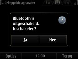 Nokia E6-00 - Bluetooth - Headset, carkit verbinding - Stap 7