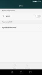 Huawei Ascend G7 - WiFi - Conectarse a una red WiFi - Paso 5