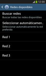 Samsung S7580 Galaxy Trend Plus - Red - Seleccionar una red - Paso 8