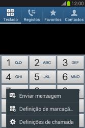 Samsung Galaxy Fame - Chamadas - Como bloquear chamadas de um número -  5