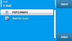 Nokia N97 - E-mail - Manual configuration - Step 13