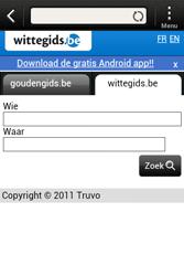 HTC A320e Desire C - Internet - internetten - Stap 11