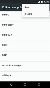 Motorola Moto Z Play - MMS - Manual configuration - Step 15