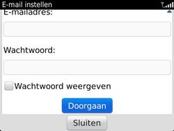 BlackBerry 9360 Curve - E-mail - Handmatig instellen - Stap 8