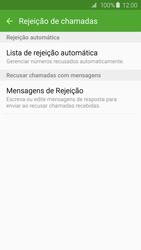 Samsung Galaxy S6 - Chamadas - Como bloquear chamadas de um número específico - Etapa 7