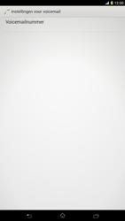 Sony C6833 Xperia Z Ultra LTE - Voicemail - Handmatig instellen - Stap 7