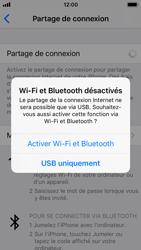 Apple iPhone SE - iOS 11 - Internet et connexion - Utiliser le mode modem par USB - Étape 7