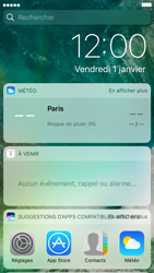 Apple iPhone 6 iOS 10 - iOS features - Écran de verrouillage - Étape 3