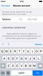 Apple iPhone 5 (iOS 8) - apps - account instellen - stap 23