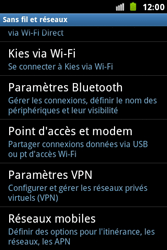 Samsung S7500 Galaxy Ace Plus - Internet - configuration manuelle - Étape 6