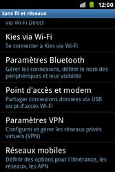 Samsung S7500 Galaxy Ace Plus - Internet - Configuration manuelle - Étape 5