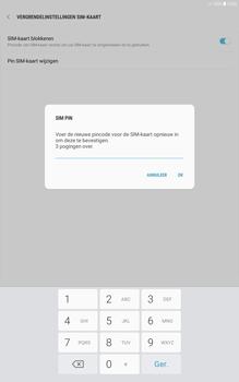 Samsung galaxy-tab-a-10-1-android-oreo - Beveiliging en ouderlijk toezicht - Hoe wijzig ik mijn SIM PIN-code - Stap 10