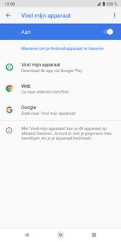 Sony Xperia XZ3 - Toestel - stel Zoek mijn mobiel in - Stap 8