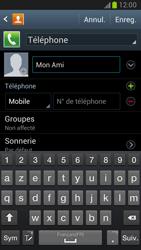 Samsung Galaxy Note 2 - Contact, Appels, SMS/MMS - Ajouter un contact - Étape 7