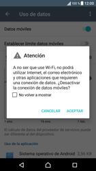 Sony Xperia X - Internet - Activar o desactivar la conexión de datos - Paso 6