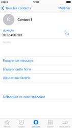 Apple iPhone 6s - Contact, Appels, SMS/MMS - Ajouter un contact - Étape 10