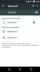 Alcatel Idol 3 - Bluetooth - Conectar dispositivos a través de Bluetooth - Paso 8