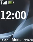 Nokia 2330 classic - E-mail - e-mail versturen - Stap 1