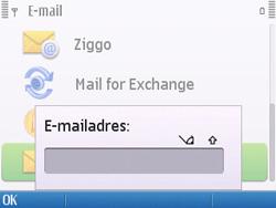 Nokia E5-00 - E-mail - handmatig instellen - Stap 10