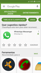 Samsung Galaxy S6 Android M - Aplicações - Como pesquisar e instalar aplicações -  4