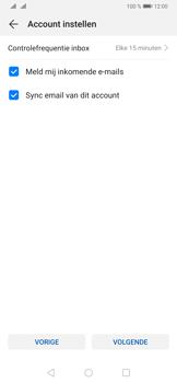 Huawei p30-dual-sim-model-ele-l29 - E-mail - Account instellen (POP3 met SMTP-verificatie) - Stap 18