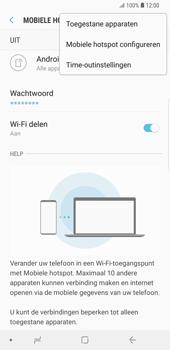 Samsung Galaxy S9 Plus (SM-G965F) - WiFi - Mobiele hotspot instellen - Stap 8