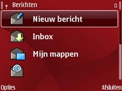 Nokia E63 - MMS - Afbeeldingen verzenden - Stap 4