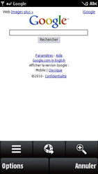 Nokia X6-00 - Internet - navigation sur Internet - Étape 7